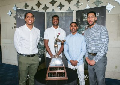 Men's Finalists [L to R] Malcolm Brogdon, Buddy Hield, Tyler Ulis and Denzel Valentine