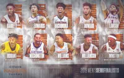 2019 Citizen Naismith Trophy Semifinalists Announced