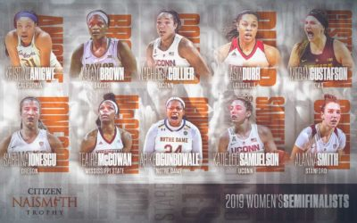 Semifinalists Announced for 2019 Women's Citizen Naismith Trophy