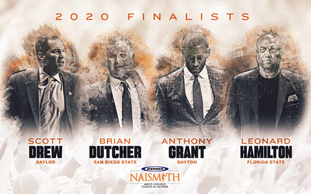 Werner Ladder Naismith Men's Coach of the Year Finalists