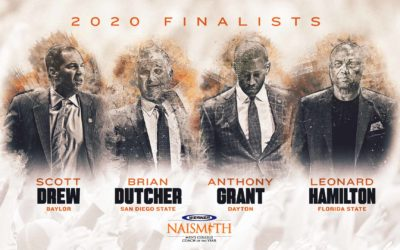 2020 Werner Ladder Naismith Men's Coach of the Year Finalists Announced