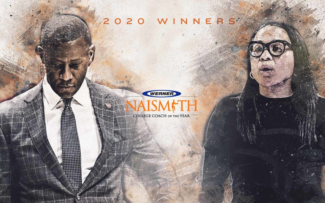2020 Werner Ladder Naismith Coach of the Year Winners
