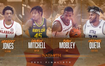 2021 Finalists for the Naismith Men's Defensive Player of the Year
