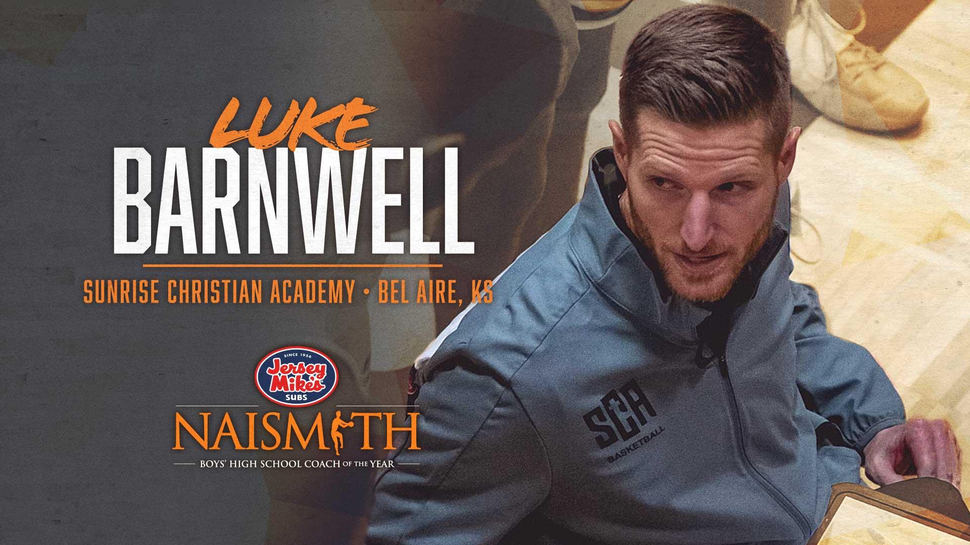 Coach Luke Barnwell