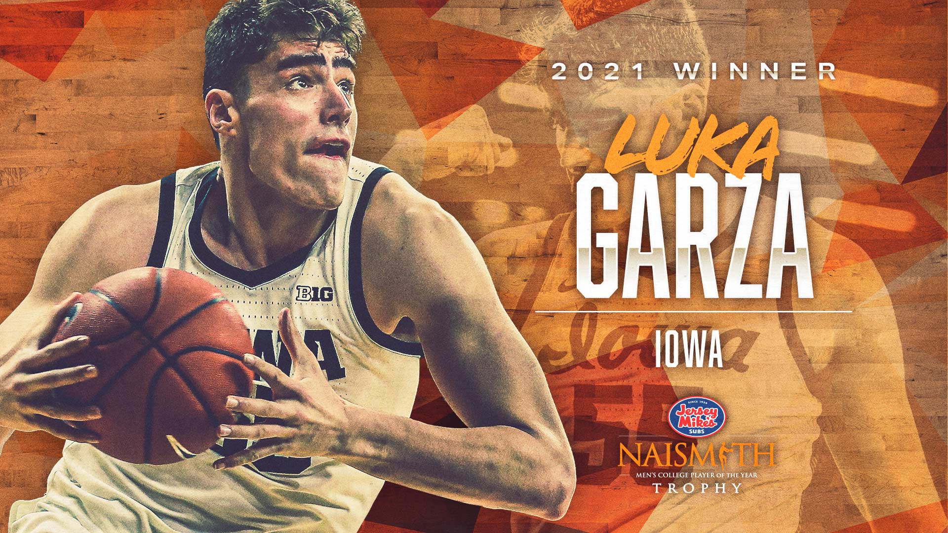 2021 Jersey Mike's Naismith Trophy Luka Garza