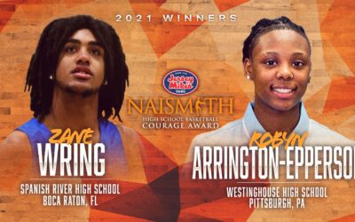 Second Annual Jersey Mike's Naismith Courage Award Winners Announced