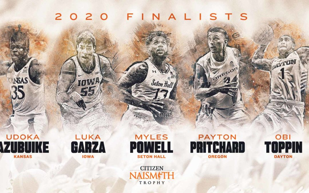 Five 2020 Finalists