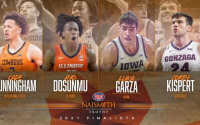 Cunningham, Dosunmu, Garza and Kispert Named Finalists for the 2021 Jersey Mike's Naismith Trophy